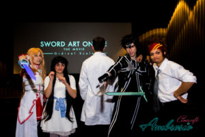 Cosplayer a Sword Art Online The Movie: Ordinal Scale